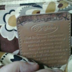 Brighton Bags - BRIGHTON  Vintage    pebbled    leather   bag
